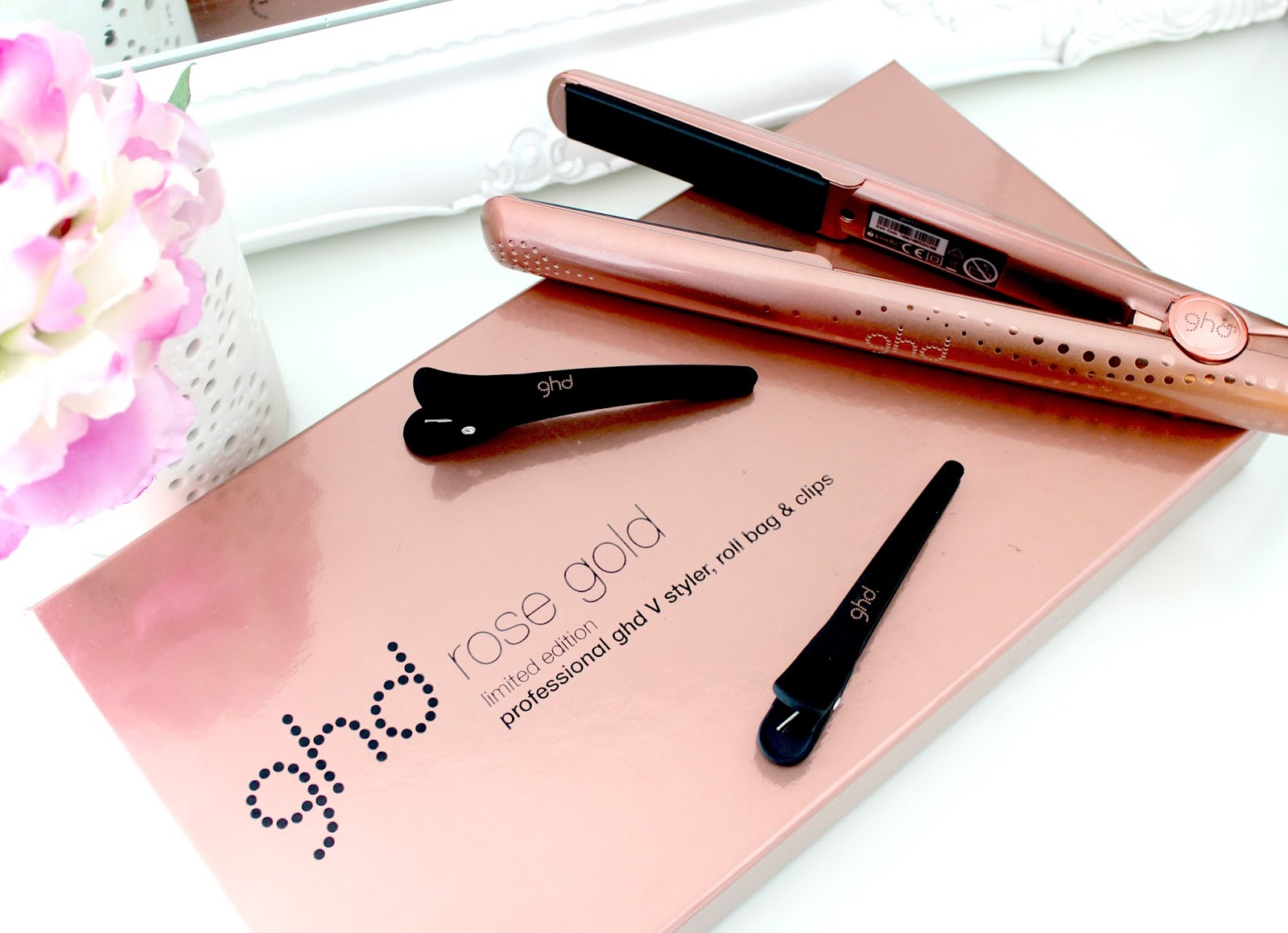 GHD Rose Gold