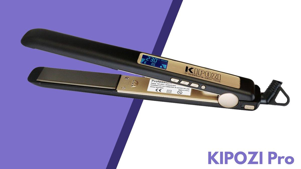 Recensione Kipozi Pro piastra capelli