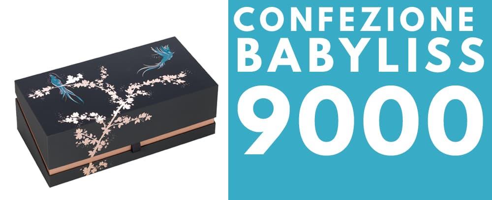 Confezione piastra BaByliss 9000