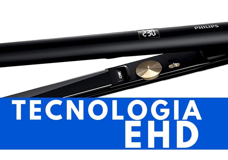tecnologia EHD piastra per capelli Philips