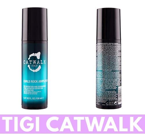 capelli ricci crema Tigi Catwalk