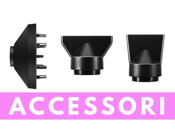 Particolare accessori Newdora asciugacapelli