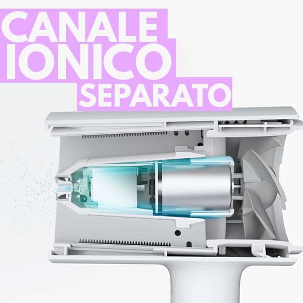 canale ionico separato asciugacapelli Xiaomi Mi Ionic Hair Dryer
