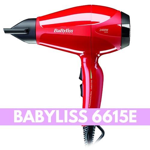 Asciugacapelli silenzioso Babyliss 6615E